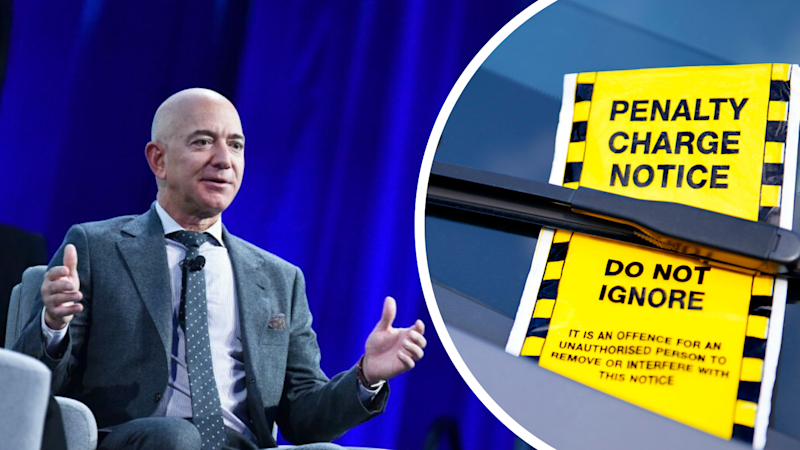 Jeff Bezos received almost $25,000 in parking tickets while renovating his Washington D.C mansion. Source: Getty