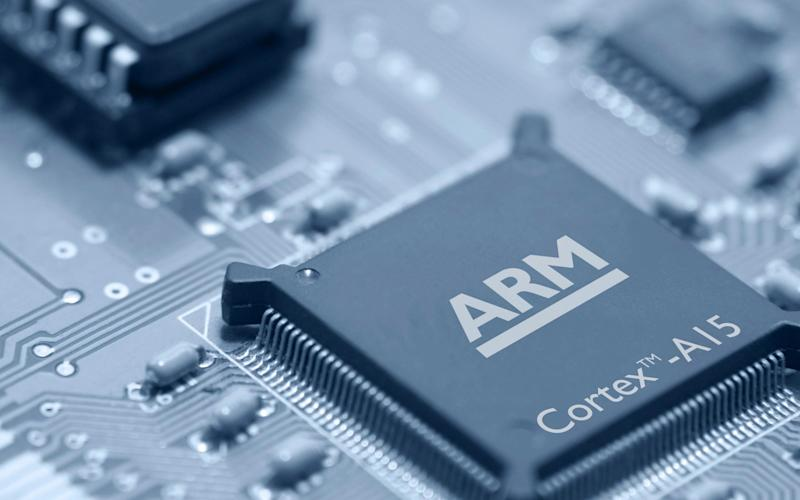 Cambridge-based chip firm Arm dominates the smartphone market - Arm Holdings/Bloomberg News