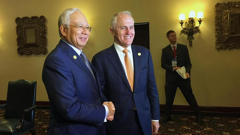 PM Malcolm Turnbull won't confirm if Australia is in negotiations for a refugee deal with Malaysia.