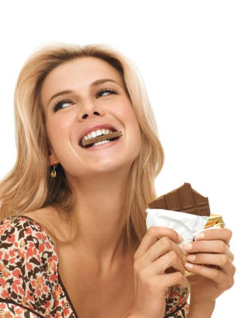 Eat all the chocolate you want! You won't get a pimple.