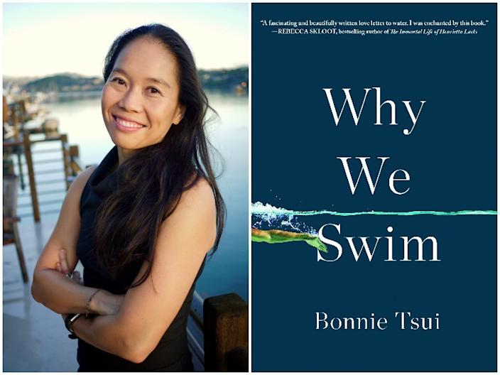 """Bonnie Tsui is the author of """"Why We Swim."""""""