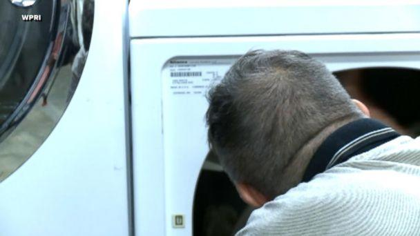 PHOTO: Steven Ledo, 62, who has been working at The Miriam Hospital in Providence, Rhode Island, for 19 years, has returned more than $9,000 to a patient after finding the cash in a dryer in the hospital laundry room. (WPRI)