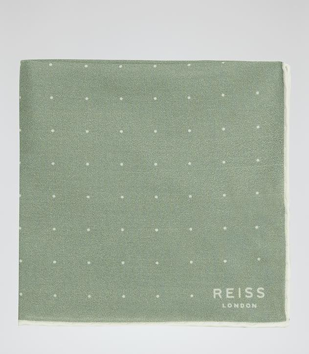 "<p>A classic pocket square for the dapper dad. <i>($55 <a href=""https://www.reiss.com/ca/p/dotted-pocket-square-mens-higgs-in-sage/?category_id=1119#"" rel=""nofollow noopener"" target=""_blank"" data-ylk=""slk:via Reiss"" class=""link rapid-noclick-resp"">via Reiss</a>)</i></p>"
