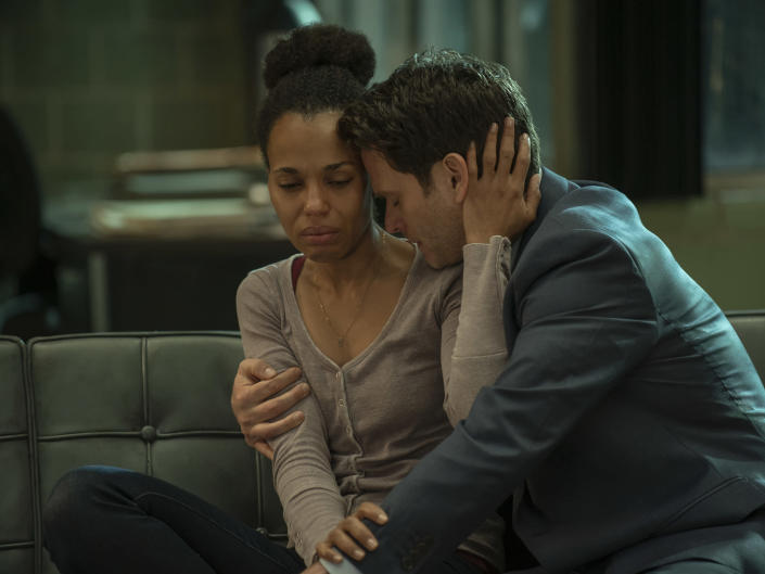 Kerry Washington and Steven Pasquale in 'American Son'Netflix