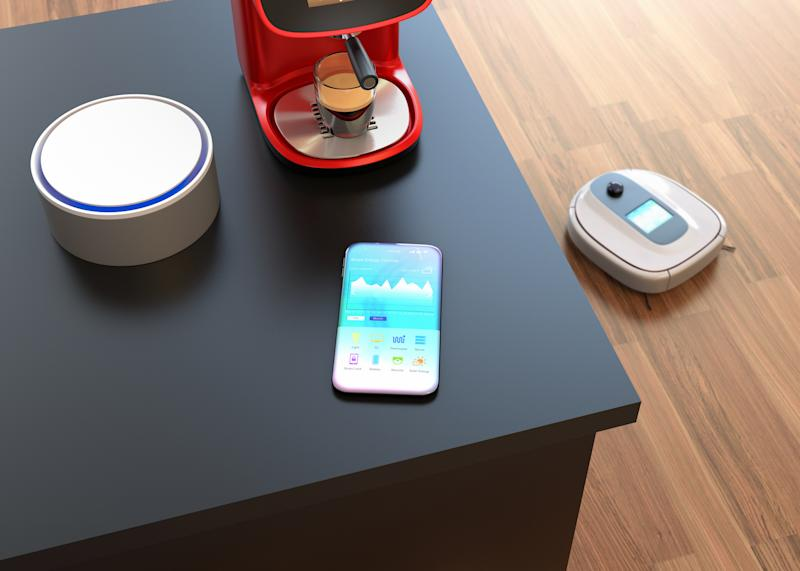 Wi-fi connected smart devices
