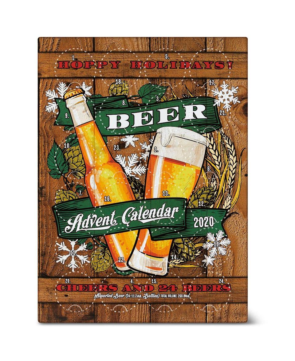 <p>If you're looking for another option, you can also get this beer advent cal from Aldi this season for $49.99. It'll be available in stores that sell beer on November 4. </p>