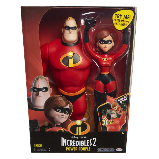 <p>Incredibles 2 Power Couple, Jakks Pacific, $29.99. (Photo: Courtesy of Disney Products and Interactive Media) </p>