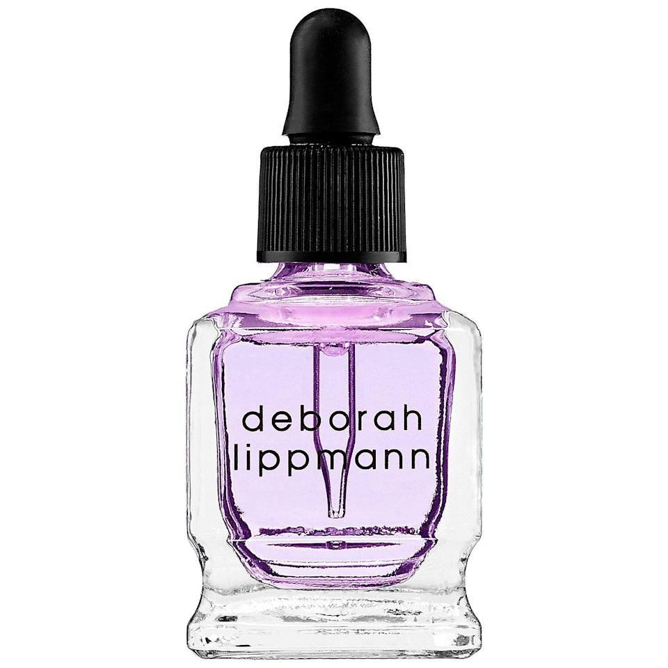 """<p><strong>Deborah Lippmann</strong></p><p>sephora.com</p><p><strong>$20.00</strong></p><p><a href=""""https://go.redirectingat.com?id=74968X1596630&url=https%3A%2F%2Fwww.sephora.com%2Fproduct%2Fcuticle-oil-P381210&sref=https%3A%2F%2Fwww.oprahmag.com%2Fbeauty%2Fskin-makeup%2Fg33013870%2Fbest-cuticle-oils%2F"""" rel=""""nofollow noopener"""" target=""""_blank"""" data-ylk=""""slk:SHOP NOW"""" class=""""link rapid-noclick-resp"""">SHOP NOW</a></p><p>This brilliant cuticle oil is liquid gold, packed with <a href=""""https://www.oprahmag.com/beauty/skin-makeup/a25571284/how-to-use-coconut-oil-for-skin/"""" rel=""""nofollow noopener"""" target=""""_blank"""" data-ylk=""""slk:extremely hydrating coconut oil"""" class=""""link rapid-noclick-resp"""">extremely hydrating coconut oil </a>and vitamin E-rich jojoba seed oil. """"It has a teeny-tiny dropper, which is key for precise application and preventing waste,"""" says Kandalec. """"But the best part: It's never greasy!""""</p>"""