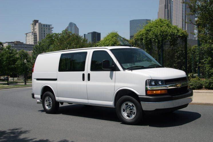 The Chevy Express Cargo Van. Way more appealing than Trump or Clinton.