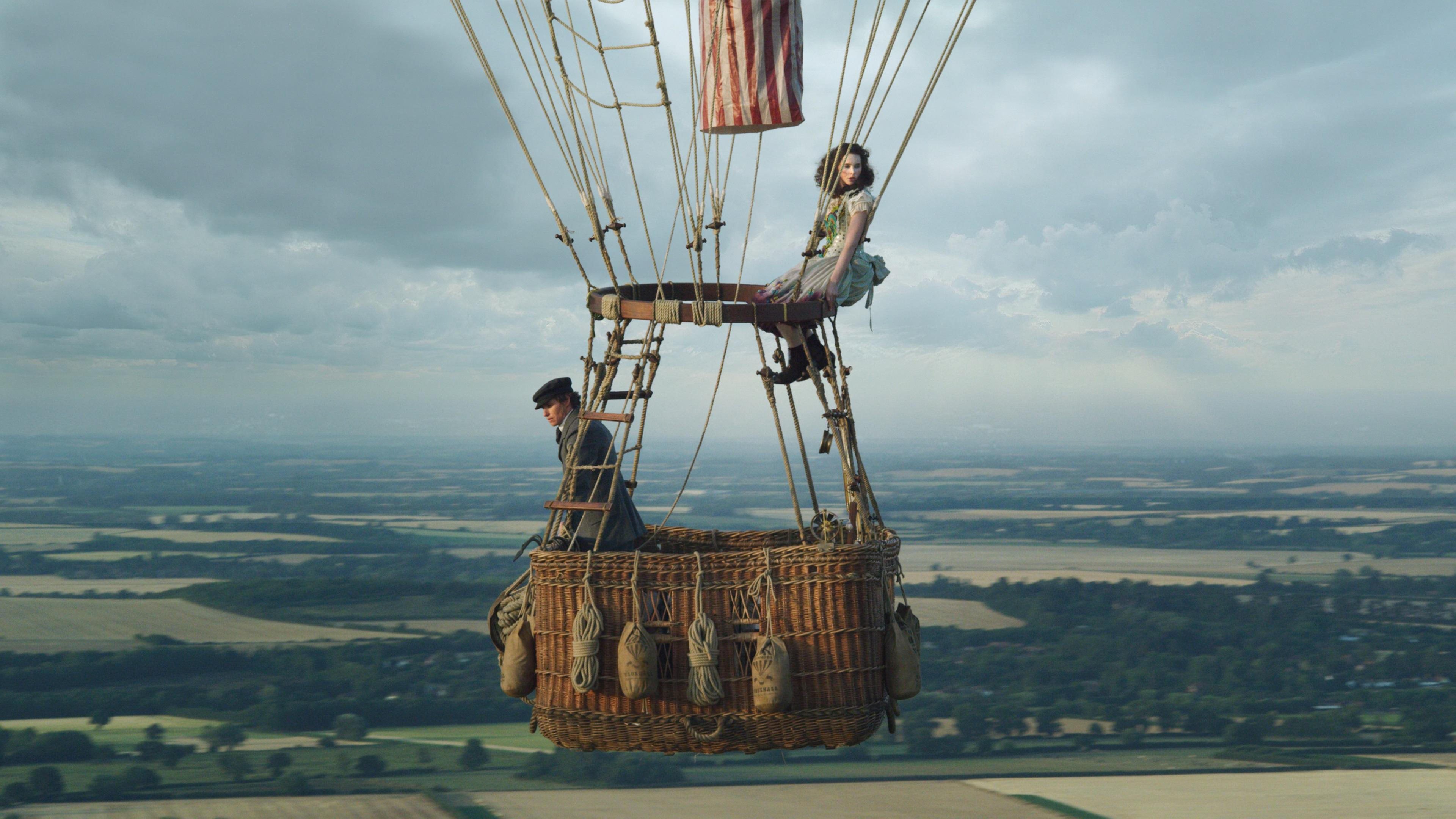 The Aeronauts take to the skies. (eOne)