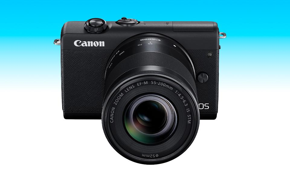 An item from the Engadget 2021 Father's Day gift guide: Canon EOS M200