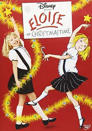 Movie poster of Eloise at Christmastime