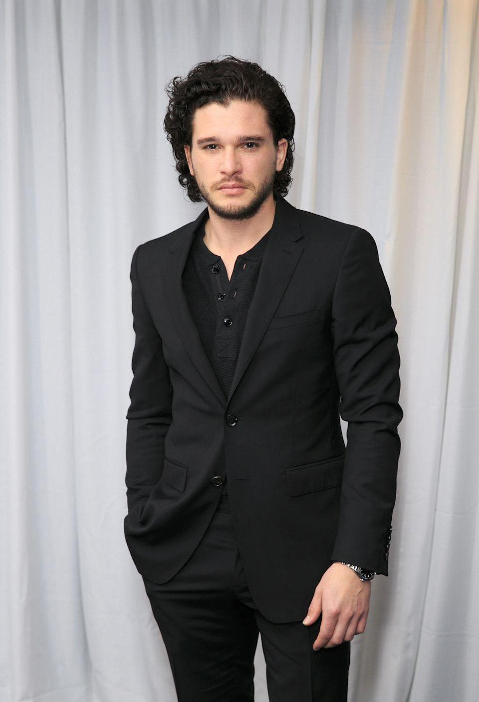 """<p>The critically panned <em>Pompeii</em> was Harington's first role after being cast as Jon Snow in <em>Game of Thrones</em> and while the movie is not well-reviewed, his <a href=""""https://www.cosmopolitan.com/entertainment/movies/a12773418/kit-harington-movie-binge/"""" rel=""""nofollow noopener"""" target=""""_blank"""" data-ylk=""""slk:shirtless scenes from the film"""" class=""""link rapid-noclick-resp"""">shirtless scenes from the film</a> are both very impressive and also on YouTube.</p>"""