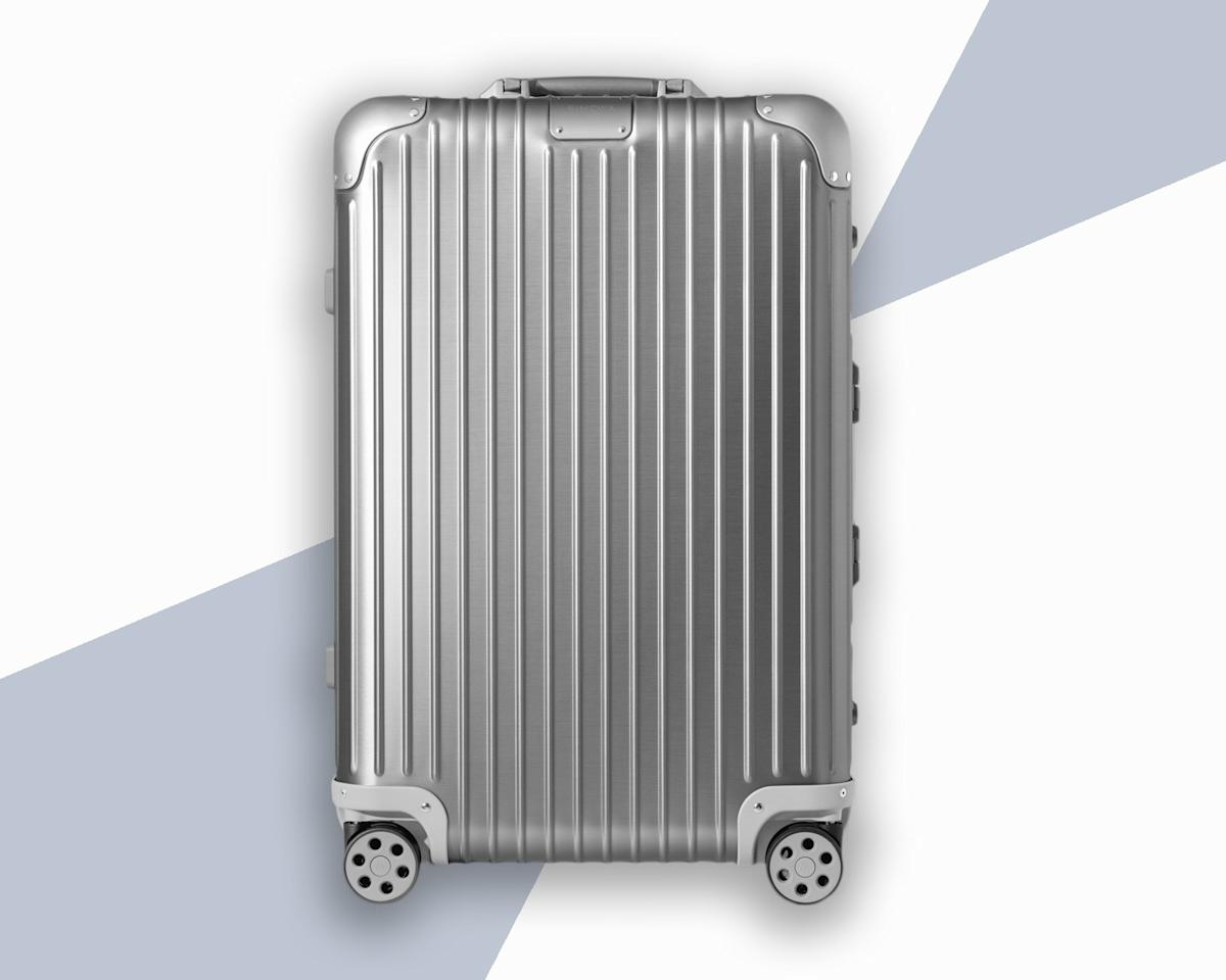 "<p>For the past 80 years, German luggage brand <a href=""https://www.cntraveler.com/gallery/rimowa-celebrates-80-years-of-its-aluminum-luggage?mbid=synd_yahoo_rss"">Rimowa</a> has been making some of the most durable hard-sided suitcases out there, thanks to its now-iconic aluminum shell. In fact, these bags are so durable that the classic design has been known to survive everything from plane crashes to war zones. Consider it a lifelong investment.</p> <p><strong>Buy Now:</strong> $1,500, <a href=""https://click.linksynergy.com/deeplink?id=mcB7N8bf3MY&mid=1237&u1=hardshellluggage&murl=https%3A%2F%2Fshop.nordstrom.com%2Fs%2Frimowa-original-check-in-large-30-inch-packing-case%2F5102643%3F"" rel=""nofollow"">nordstrom.com</a></p>"