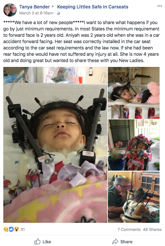 Tanya shared her devastating post to ensure other parents were aware of the risks. Photo: Facebook/