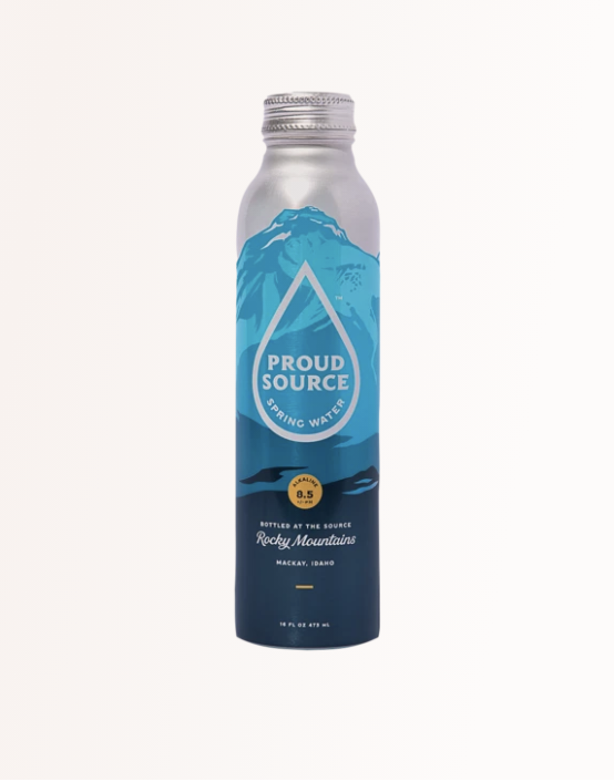 """<p><strong>Proud Source</strong></p><p>proudsourcewater.com</p><p><strong>$38.00</strong></p><p><a href=""""https://proudsourcewater.com/products/rocky-mountain-spring-water?variant=37246429200562"""" rel=""""nofollow noopener"""" target=""""_blank"""" data-ylk=""""slk:Shop Now"""" class=""""link rapid-noclick-resp"""">Shop Now</a></p><p>""""When you can't use your reusable bottle, the Proud Source water in aluminum bottles is my favorite alternative to plastic.""""</p>"""
