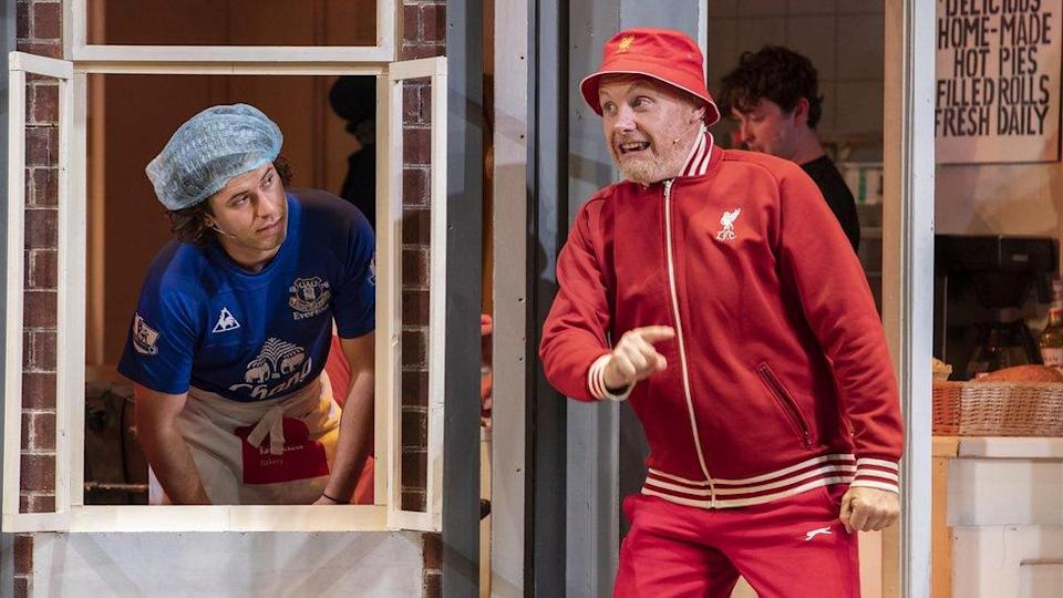 George Jones and Liam Tobin in Homebaked The Musical