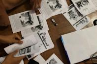 Anti-coup activists have turned to print to get their message out in the face of junta internet outages