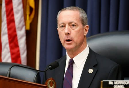"House Armed Services Committee Chairman Thornberry listens to testimony during hearing on ""The National Defense Strategy and the Nuclear Posture Review""  on Capitol Hill in Washington"