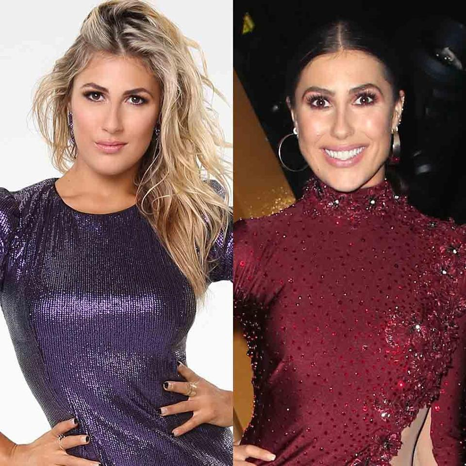 """<p>Emma joined <em>DWTS</em> in fall 2013 for season 17. She has participated in 11 seasons, securing a win with running back Rashad Jennings during season 24. Emma didn't appear on season 22 for seemingly no reason at all, and fans were <a href=""""https://www.inquisitr.com/2867430/emma-slater-out-for-dancing-with-the-stars-season-22-pro-addresses-situation-fans-express-their-disappointment/"""" rel=""""nofollow noopener"""" target=""""_blank"""" data-ylk=""""slk:quite upset"""" class=""""link rapid-noclick-resp"""">quite upset</a> with the decision to at least not put her in the troupe. </p>"""