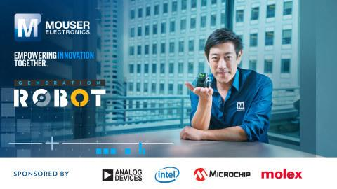Mouser Electronics And Grant Imahara Bring Ai Based Robots Into The