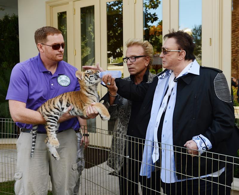 Siegfried Fischbacher and Roy Horn sat down with ABC's 20/20 in a two-hour season premiere that marked their first interview together in a decade. (Photo: Denise Truscello/WireImage)