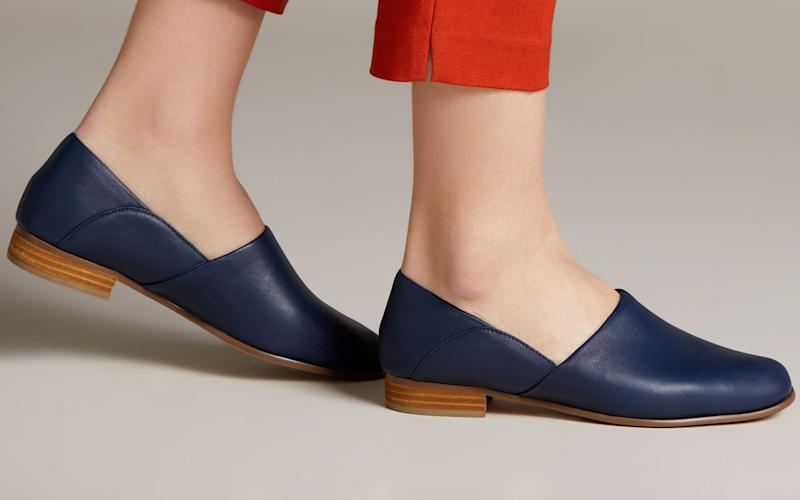 These shoes are made for walking. (Photo: Clarks)