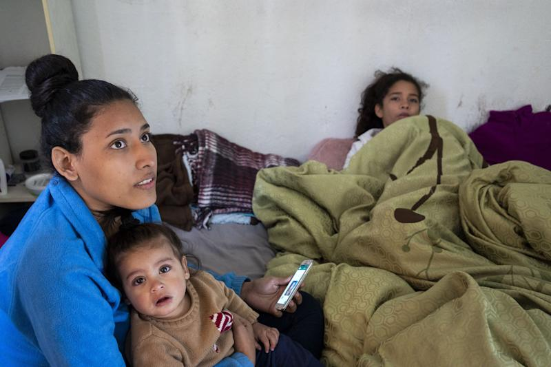 Women with their children from Guatemala and Honduras rent an apartment in Nogales, Sonora, for their safety and wait for their turn for MPP. The Migrant Protection Protocols expanded to Nogales, Sonora, in early January. One month later, it remains tough to gauge its full impact on this border city as apprehensions continue dropping, but asylum seekers continue arriving.
