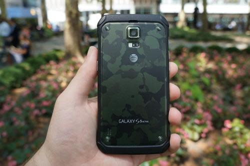 S5 Active in camouflage