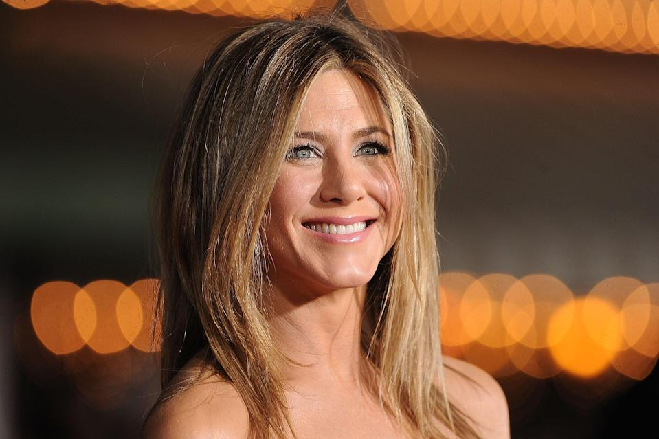 <p>Jennifer Aniston at the premiere of Universal Pictures' 'Wanderlust'</p> (Getty Images)