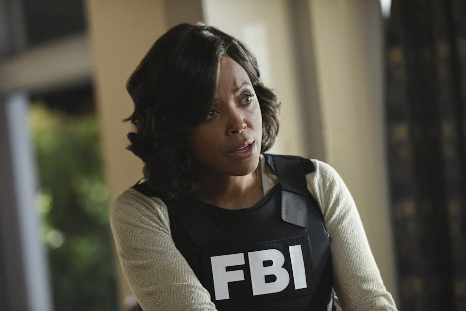 "<p>Aisha Tyler joined the team as Tara Lewis in the 11th season, but the former FBI forensic psychologist quickly makes an impression. But with an expertise like studying and interviewing serial killers to determine if they're able to stand trial, how could you not?</p><p>""Tara Lewis has been a lot of fun to play,"" Aisha told <em><a href=""https://parade.com/889475/nicolepajer/aisha-tyler-on-the-criminal-minds-finale-the-end-of-the-series-is-going-to-be-really-explosive/"" rel=""nofollow noopener"" target=""_blank"" data-ylk=""slk:Parade"" class=""link rapid-noclick-resp"">Parade</a></em>. ""She's incredibly smart. She's really passionate and fearless. Even though she's tough—she's there to fight very bad guys—she hasn't lost her soul. I love the combination of hyper-intellectual and just ballsy badass lady.""</p>"