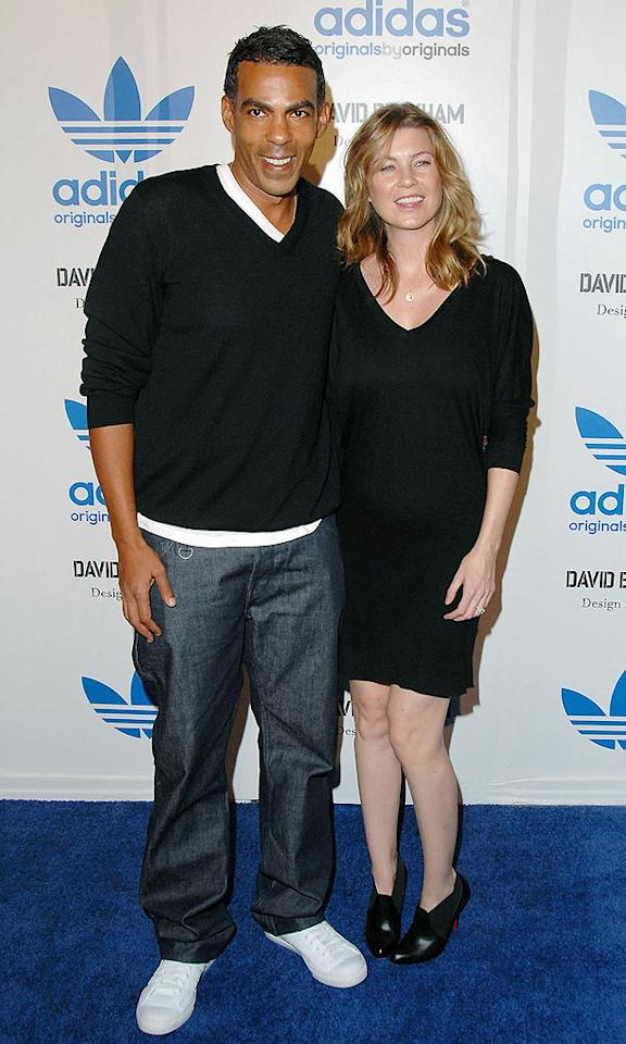 """Just a few days later, Heigl's """"Grey's"""" co-star, Ellen Pompeo, 40, and husband Chris Ivery welcomed their first child, Stella Luna Pompeo Ivery, on September 15 in Los Angeles. Jon Kopaloff/<a href=""""http://www.filmmagic.com/"""" target=""""new"""">FilmMagic.com</a> - September 30, 2009"""