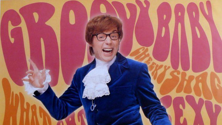 Groovy... Mike Myers is up for bringing back Austin Powers - Credit: New Line