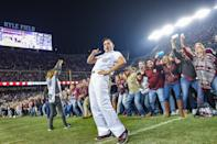 Best sports: women's track & field, men's golf. Trajectory: steady. The Southeastern Conference's best overall department outside of Florida? Over the past five years it's the Aggies, who have finished in the Top 15 four straight times. Of course, when you're raking in more than $200 million a year in revenue, you should be good at a lot of things. The only thing lacking are actual national championships — the Aggies have won just one, in men's indoor track, in the last five years.