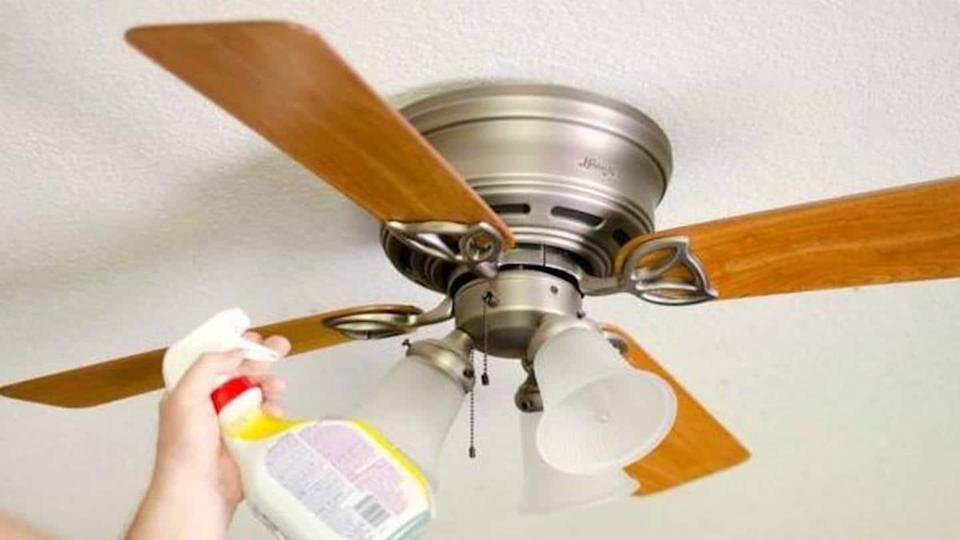 Tips to keep lights and fans clean at your home