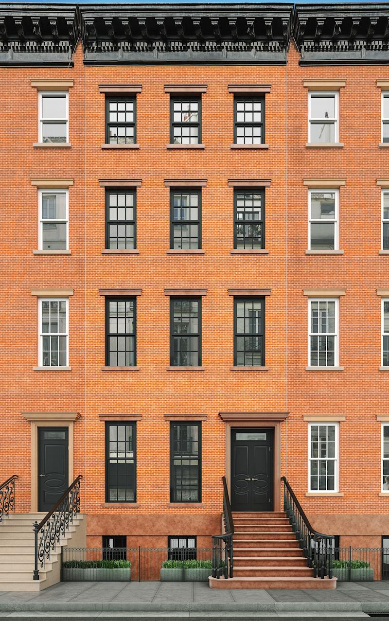 A rendering of 271 West 11th Street, New York.