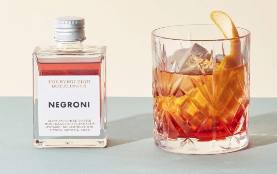 The Everleigh Bottling Co. single portioned cocktail
