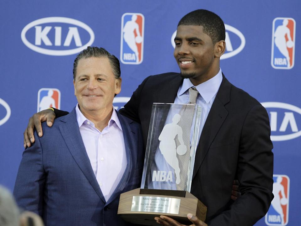 <p>Owner of the Cleveland Cavaliers, Gilbert worth $5.8 billion after making his fortune from money lending. </p>