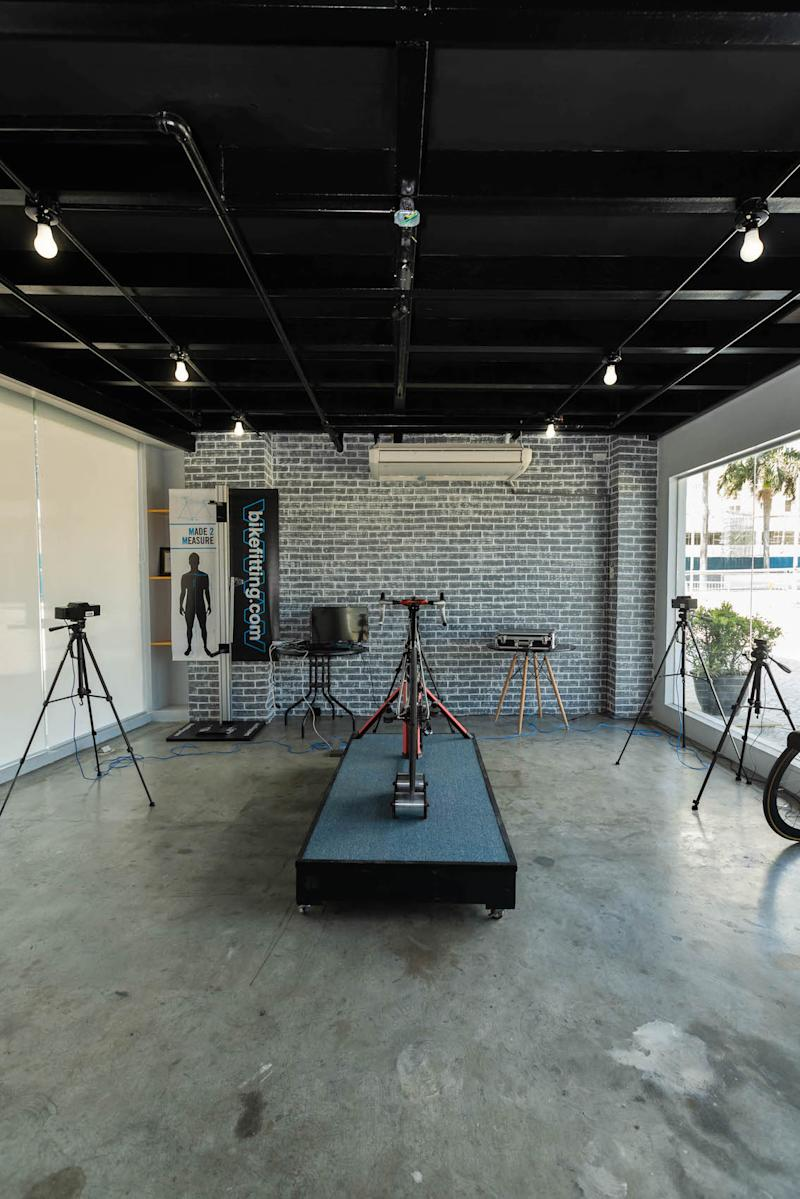 Bicycle studio, where bikes are fit for their owners. Photo: Celeste Cycles PH