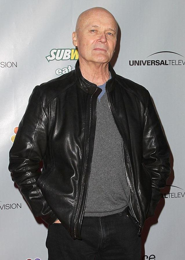 """Creed Bratton arrives at """"The Office"""" series finale wrap party at Unici Casa Gallery on March 16, 2013 in Culver City, California."""