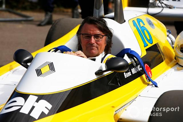 "René Arnoux, Renault RS10 <span class=""copyright"">Andrew Hone / Motorsport Images</span>"