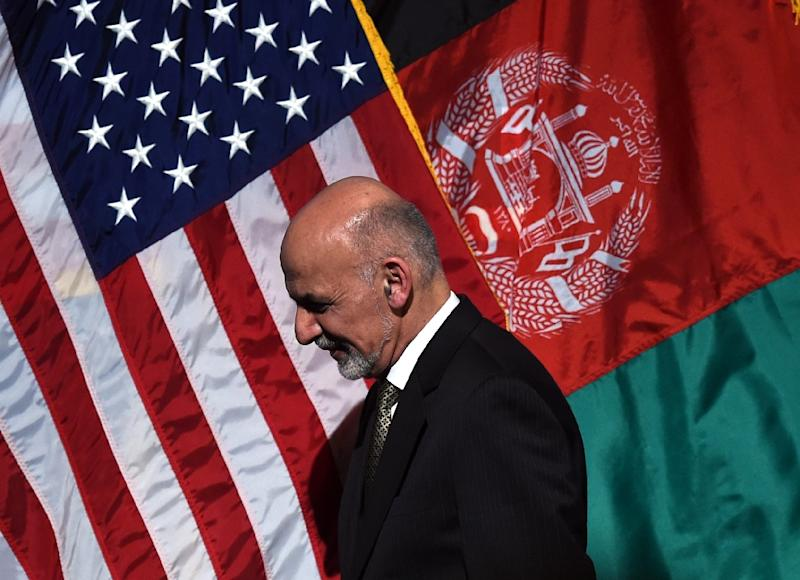 Afghanistan's President Ashraf Ghani appears to be cracking down hard on corruption (AFP Photo/Timothy A. Clary)