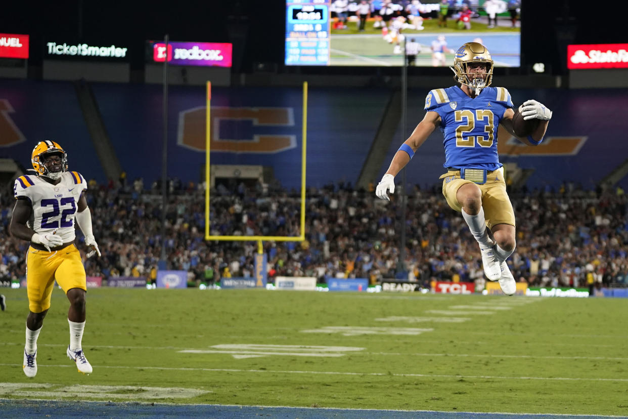 UCLA had a statement win over LSU on Saturday, but what exacty did it tell us? (AP Photo/Marcio Jose Sanchez)