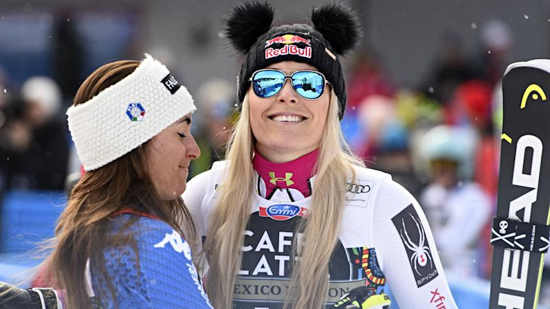 Vonn's 82nd World Cup win can't deny Goggia downhill glory