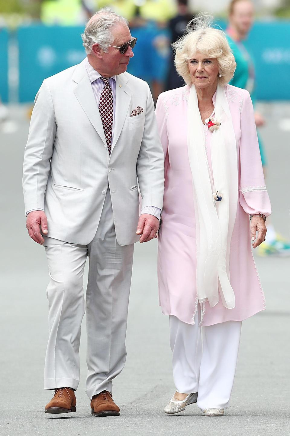 Camilla refused to move into the house with Charles. Photo: Getty