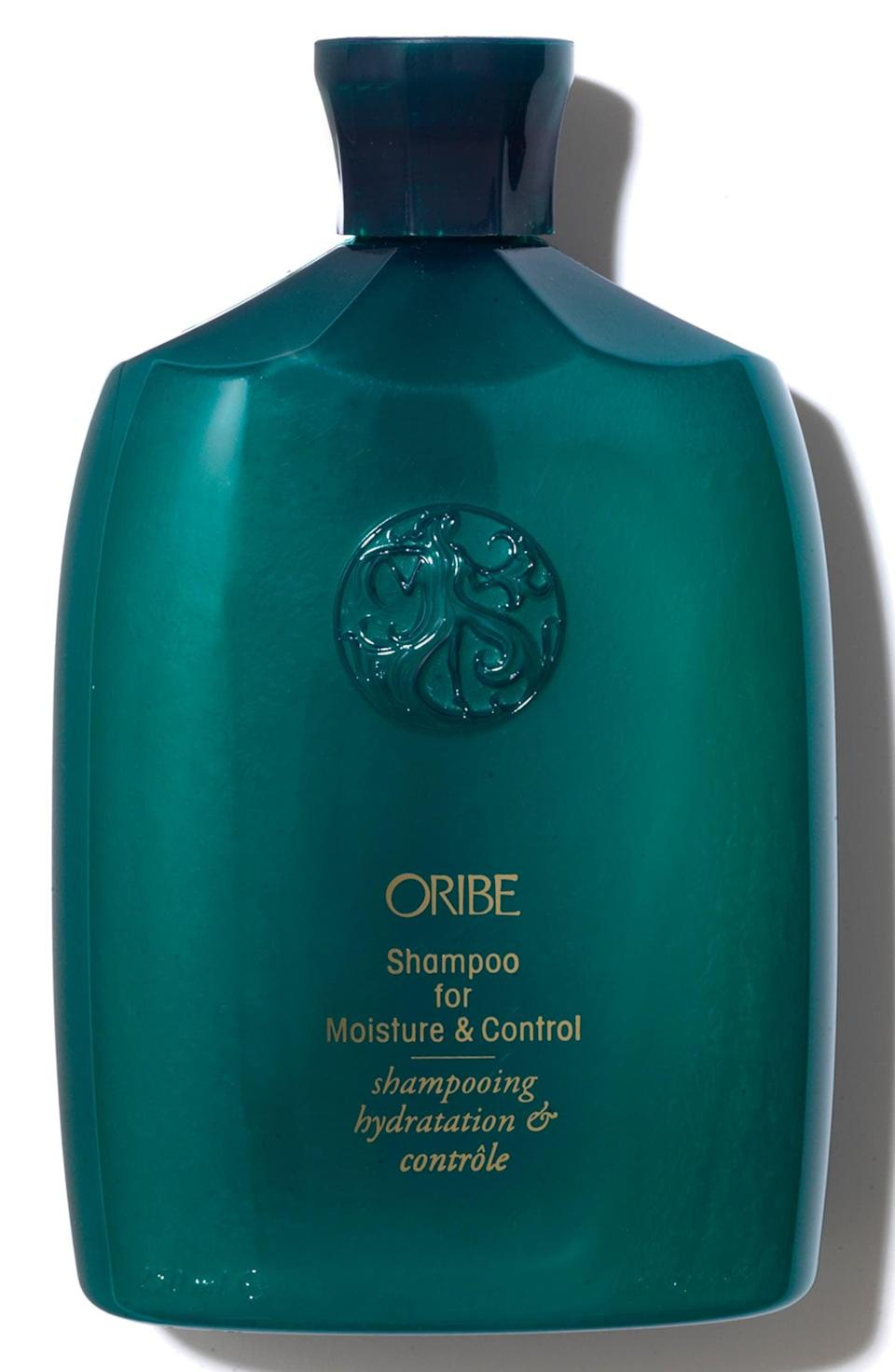 <p>If you have dry hair, the <span>Oribe Shampoo for Moisture &amp; Control</span> ($46) will be your new favorite. It will leave your scalp and hair soft and hydrated.</p>