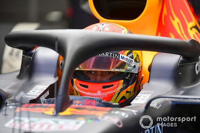 "Alexander Albon, Red Bull Racing <span class=""copyright"">Mark Sutton / Sutton Images</span>"
