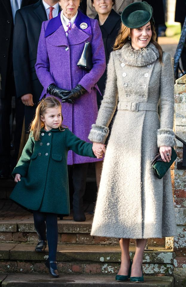 When Prince George and Princess Charlotte made their royal Christmas debut in Dec. 2019, Kate Middleton was a proud mama. She held hands with her 4-year-old daughter, and even modeled a perfect curtsy for her to replicate.