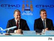 Manchester City announce Etihad deal