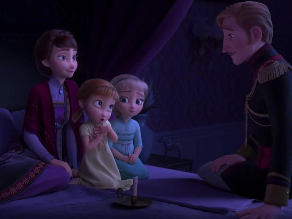 """A new """"Frozen"""" book takes readers back to the teen years of Anna and Elsa's parents."""